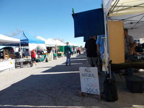 All Natural Stew For Dogs and Other Treats at the Farmer's Market in Joshua Tree