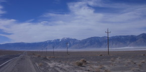 A Good Representation of Much of the Scenery Driving Through Death Valley