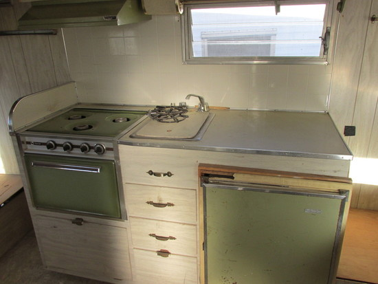 Story of the $200 Vintage Trailer. Now the Fun Begins... Need a Cool Art Decoration for the Trashed Icebox