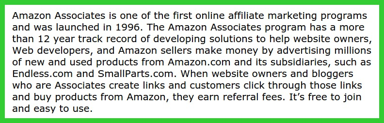 I am Now An Amazon Affiliate Partner