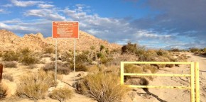 Entrance to BLM