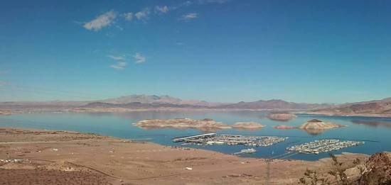 The Awesome Teen Took This Photo On His Hike From the Hoover Dam to Entrance of Lake Mead.  It is of the Marina.